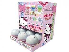 Hello Kitty papírenské potřeby - Gacha koule